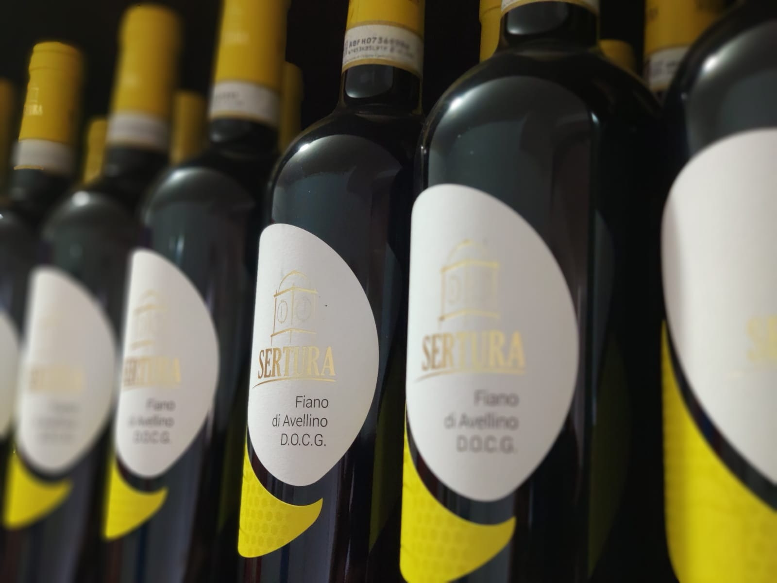 Bottiglie di Fiano di Avellino